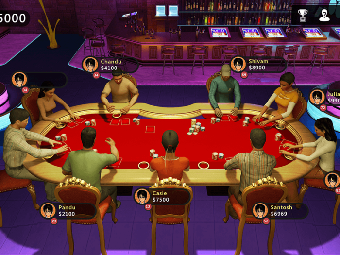 Pot Poker game
