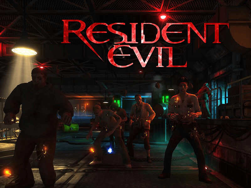 resident Evil VR game for Theme park